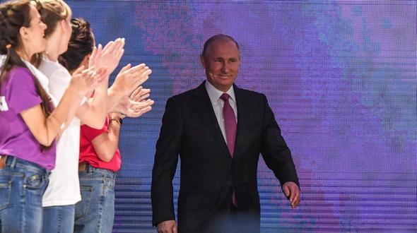 Putin kündigt Kandidatur bei Präsidentenwahl an
