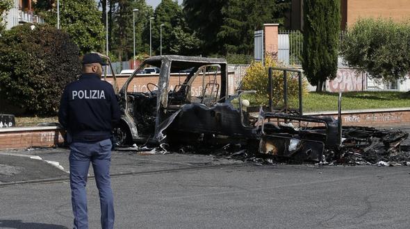 Kriminalität: Schwestern verbrennen in Campingwagen in Rom