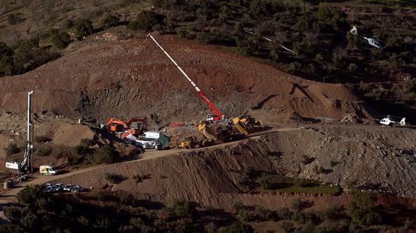 Zweijähriger in 70 Metern Tiefe: Julen tot im Brunnenschacht gefunden