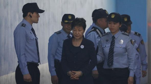 Südkorea: Prozess gegen frühere südkoreanische Präsidentin beginnt