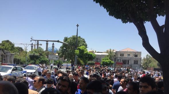 Mindestens 18 Tote nach Anschlägen in Teheran
