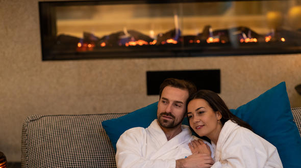 Therme Meran am Valentinstag - Foto: Alfred Tschager
