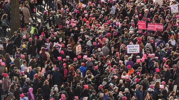 Hunderttausende demonstrieren in den USA gegen Trump