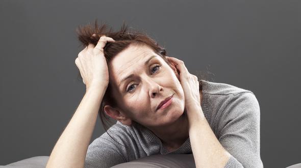 Wechseljahre Depressionen Stimmungsschwankungen