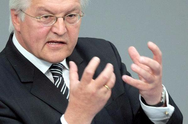 """Deutscher Außenminister: Sicherheit in Europa """"bedroht"""""""