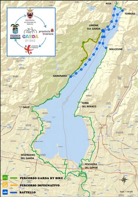 "fahrradwege gardasee karte Gardasee eröff""spektakulärsten Radweg Europas"""