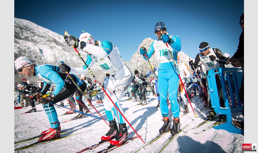 Großer Sport beim Volkslanglauf Toblach-Cortina